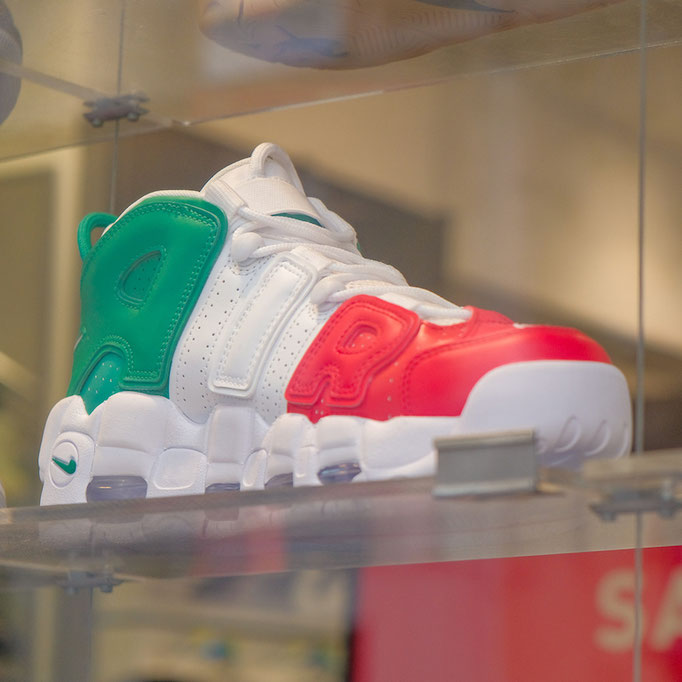 Italian shoe in tricolori