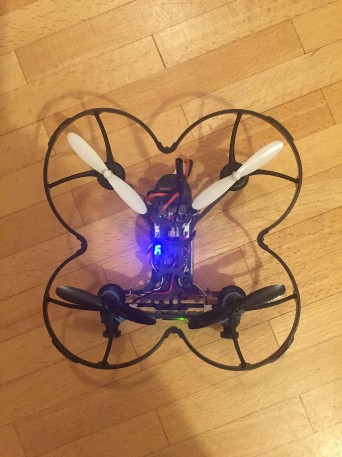 NanoCam3D Mk 1 - 3D-FPV for Micro Quadcopters - The Missing Gear