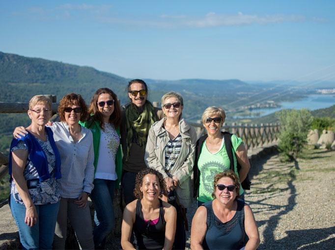Grupo de excursionistas (El Torno)