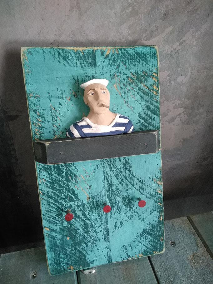 seemann schlüsselbrettchen, 35€