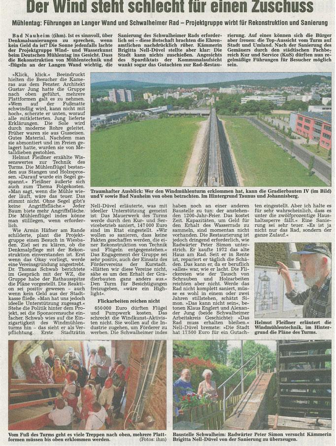 Wetterauer Zeitung, 30. Mai 2012