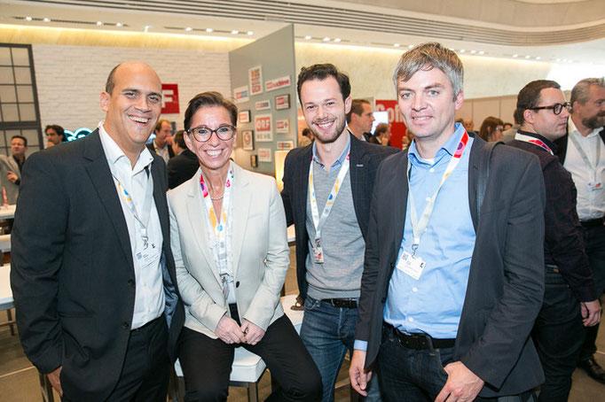 Martin Kaindel, Angela Regner, Friedrich Strobl, Michael Huber