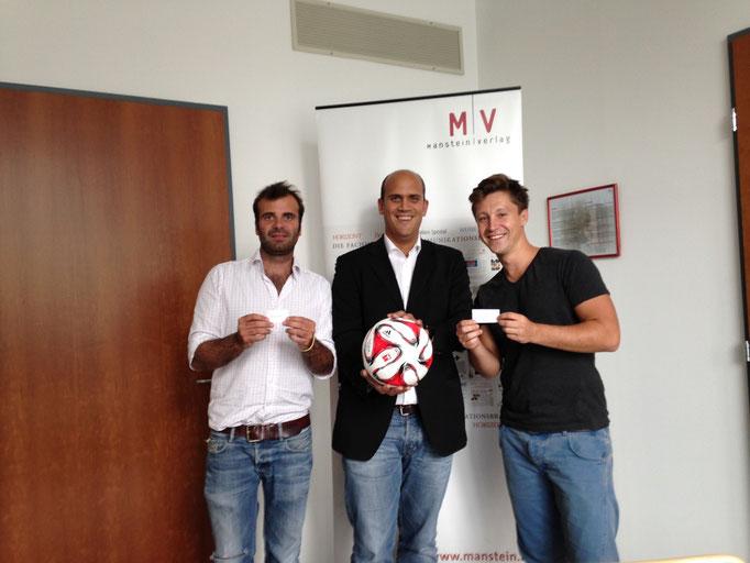 Martin Kaindel,  HORIZONT Soccer Cup