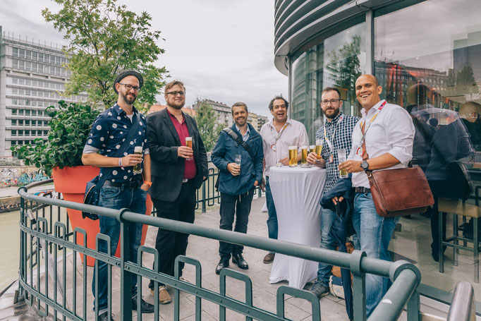 Bernd Schuh, Markus Duft, Hannes Dünser, Georg Günther, Florian Popovits, Martin Kaindel, werbeplanung Summit 2016