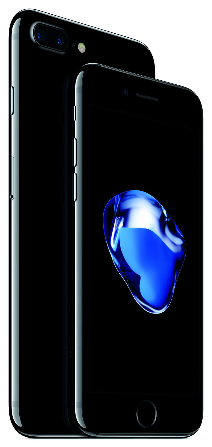 iPhone7 - Diamantschwarz / © Apple