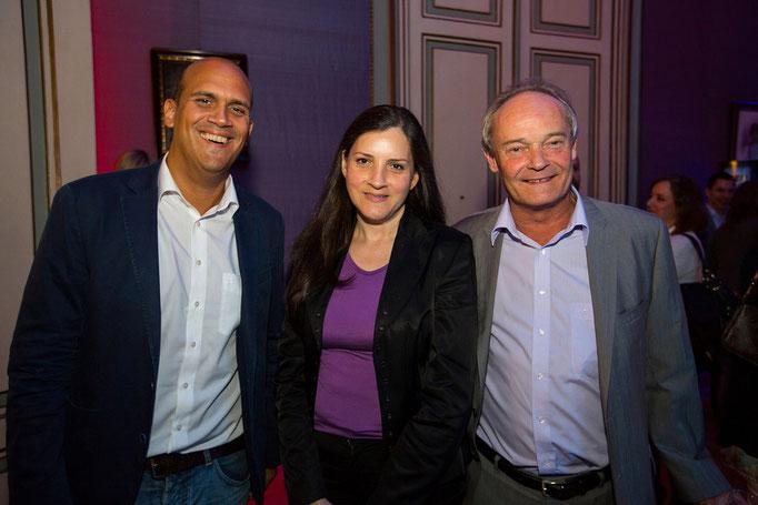 Martin Kaindel, Marcela Atria, Michael Graf