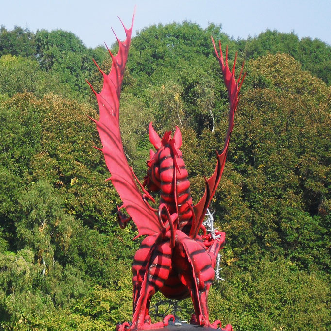 Mametz welsh dragon