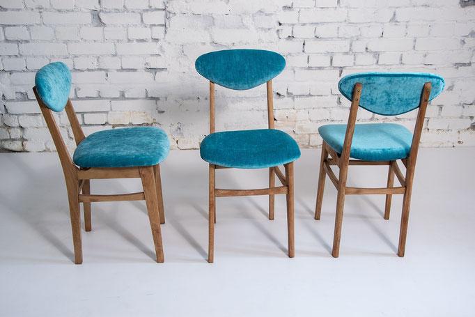 Rénovation de chaises contemporaines