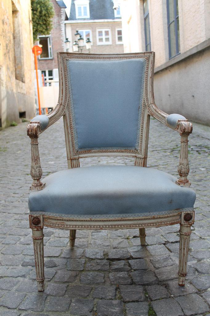 restauration d'un cabriolet Louis XIV