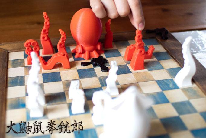 board game  大鼬鼠拳銃郎