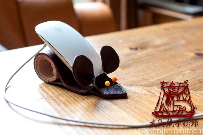 マウススタンド 大鼬鼠拳銃郎