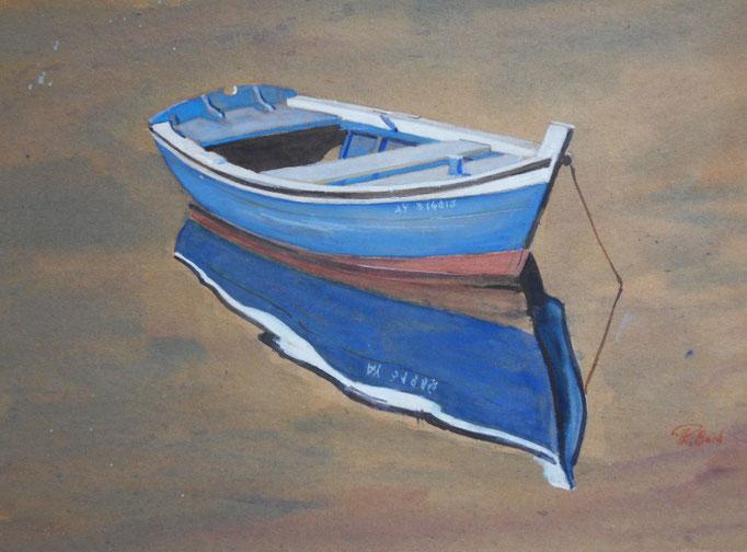 Morbihan  Plate bleue