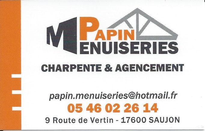 Menuiserie PAPIN
