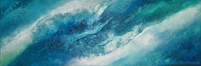 """sea love""  Größe 120 x 40 x 4 cm"