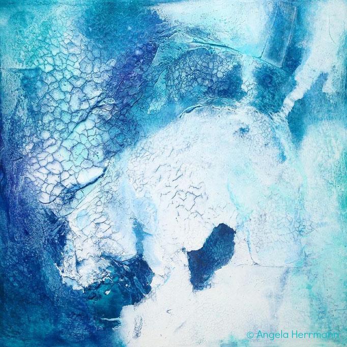 """""""polarbär""""  Größe 50 x 50 x 3,8 cm"""