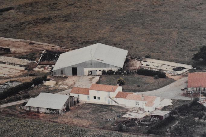 La ferme de la Belletière, en 1982.
