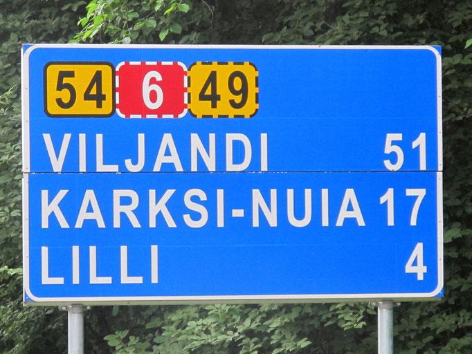 Estland erreicht...