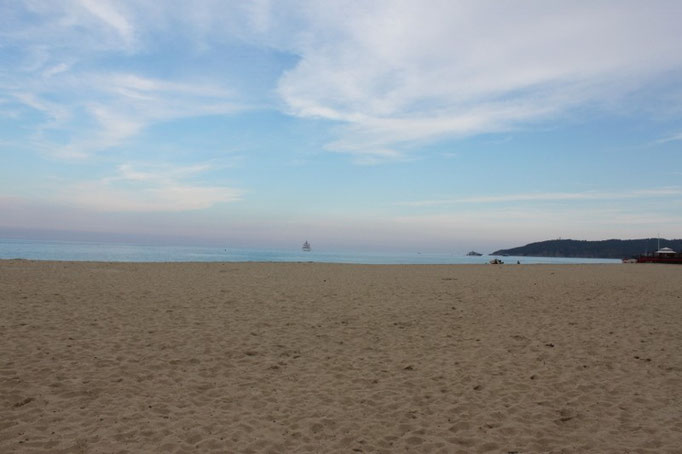 Strand bei Saint Tropez