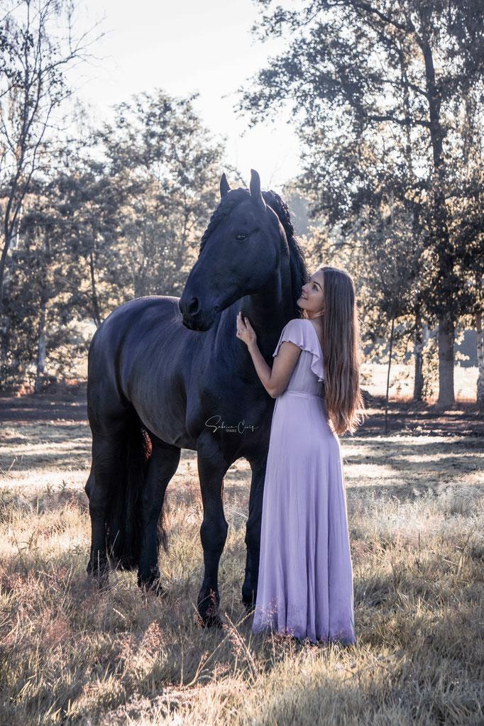 Pferdefotografie Kleid