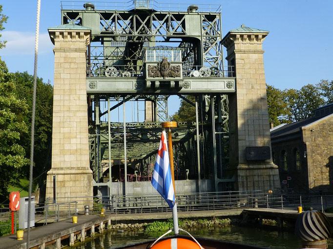 Waltrop, altes Schiffshebewerk Henrichenburg von 1899 (Dortmund-Ems-Kanal) 10.09.2016 17:45 © p-m