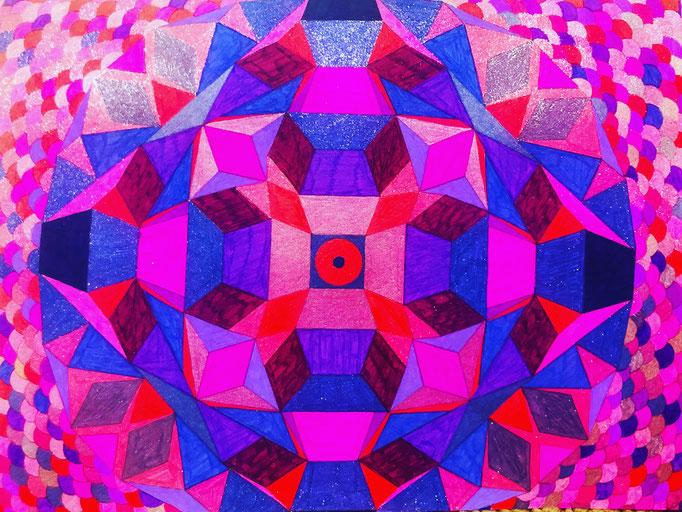 Sacred art devotion Mandala