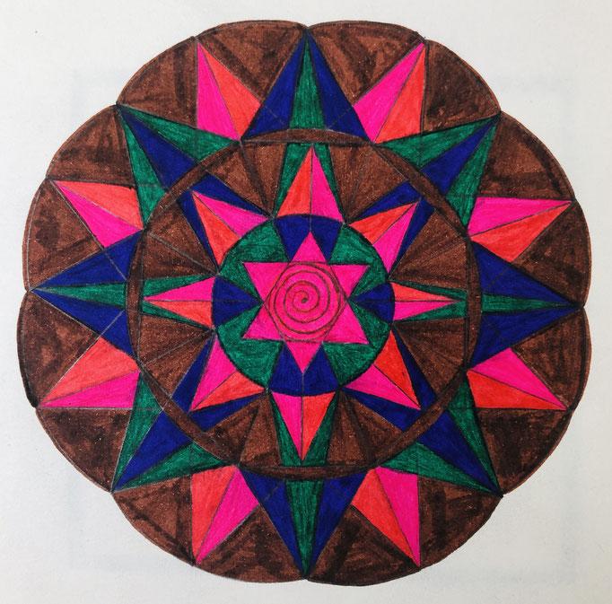 Unmatt Bhairava Energy Mandala