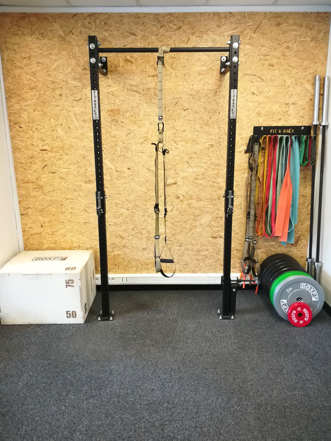 TRX, Box Jump, Barre de traction, Point d'encrage