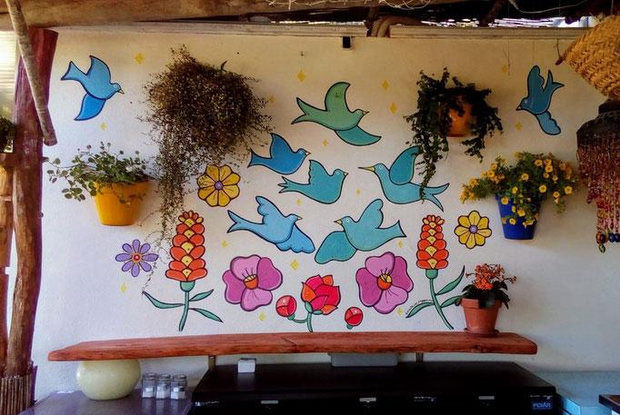 Murales at La Paloma, Ibiza