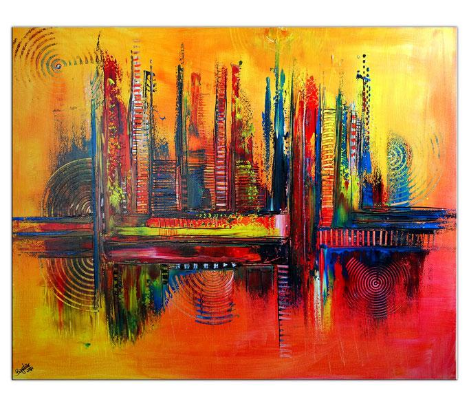 Abstrakte verkaufte Wandbilder  436