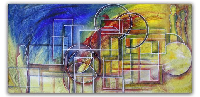 Abstrakte verkaufte Wandbilder  492