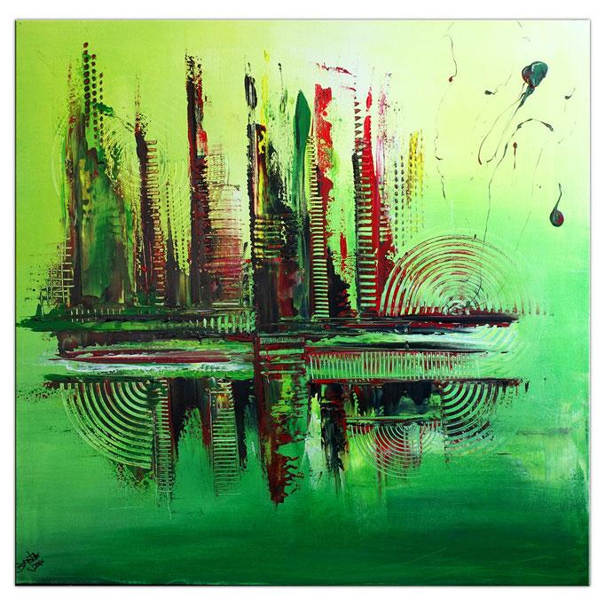 Abstrakte verkaufte Wandbilder  443