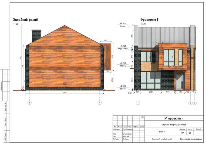 Стильный дизайн фасадов