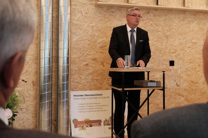 KR Martin Farner, Gemeindepräsident Oberstammheim