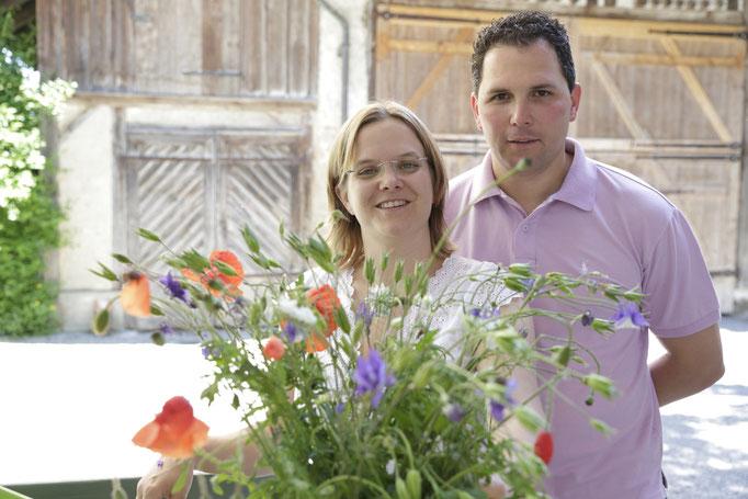 Gastgeber Petra und Mirco Schumacher