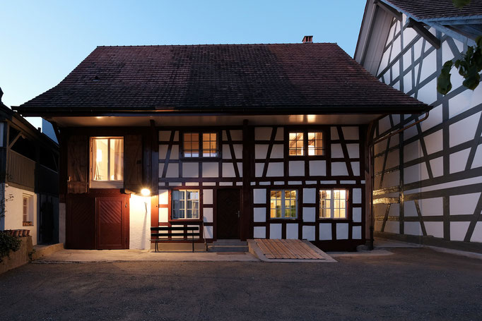 Das frisch eröffnete Haus Wyttenabch