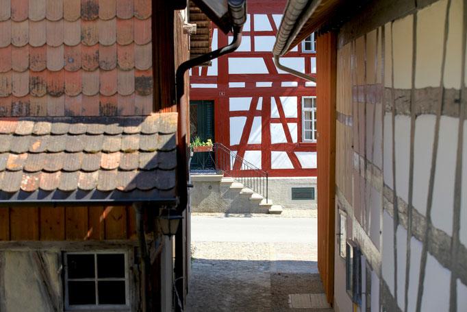 Durchgang vom Haus Wyttenabch zum Hirschen