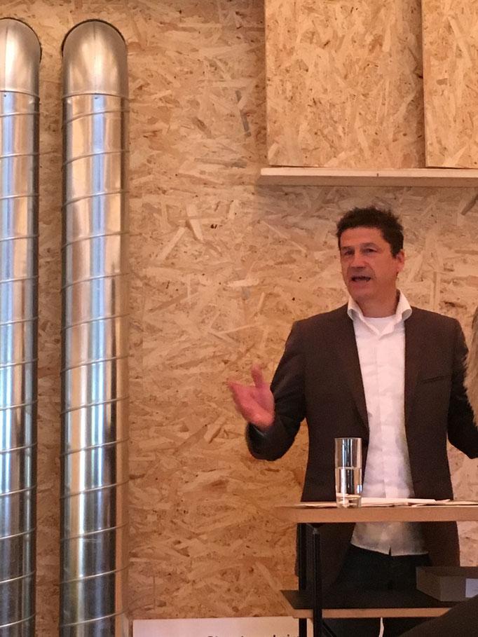 Dr. Beat Eberschweiler, Leiter Kantonale Denkmalpflege