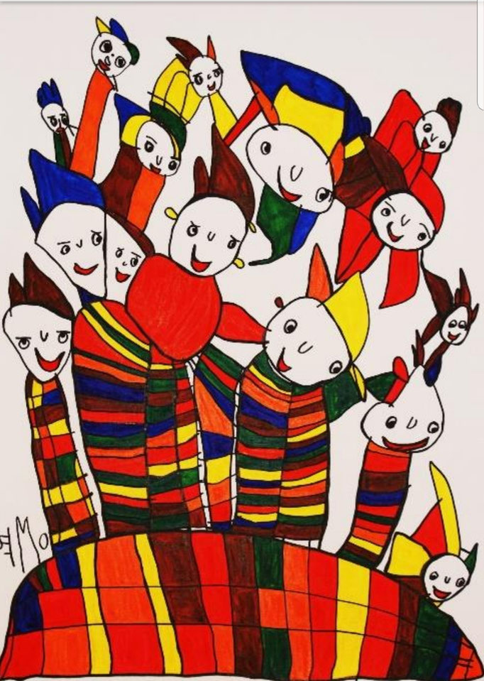 Monika Schmiedhofer Geboren 1965 in Kapfenberg Seit 1997 Mitglied von NAHTLOSKUNST WAS IST NAHTLOSKUNST? NAHTLOSKUNST ist fixer Bestandteil der Lebenshilfe Mürztal und begreift sich als ARTBRUT Atelier für Künstler*Innen mit Beeinträchtigung.