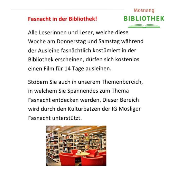 Bibliothek Mosnang