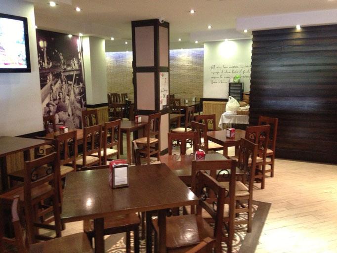 Restaurante centro Córdoba con menú para despedidas