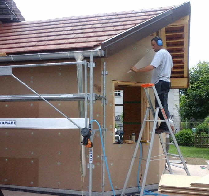 Isolation en fibres de bois haute densité, pour un confort d'été important