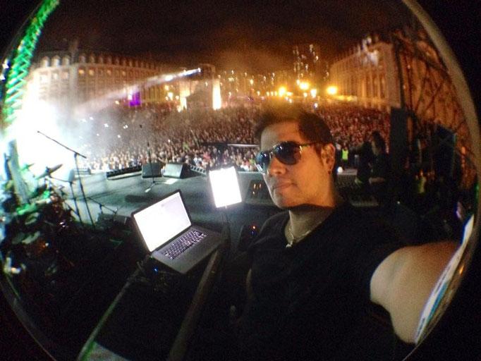 """Mi """"selfie"""" más épica: Ante 80,000 personas en el concierto en Mar del Plata, Argentina. Enero 29, 2014."""
