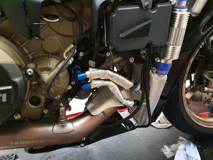 Race Wasser + Ölkühler