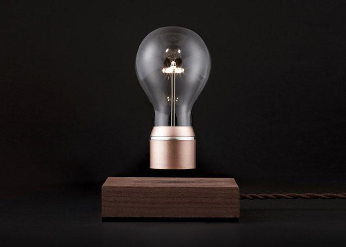 Designer Tischläuchte mit schwebender Lampe