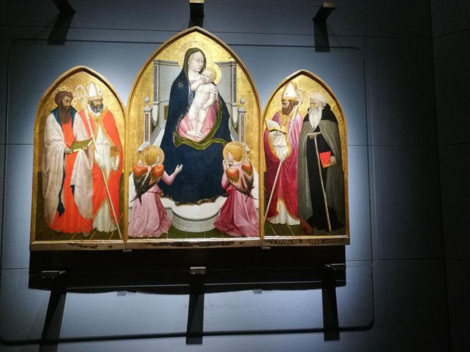 Masacio, Triptich San Giovenale, Foto von Alla Werr