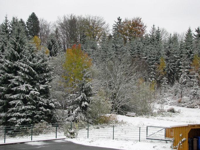 Wintereinbruch mitten im Herbst