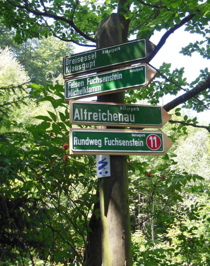 Zahlreiche Wandermöglichkeiten im Dreisesselgebiet