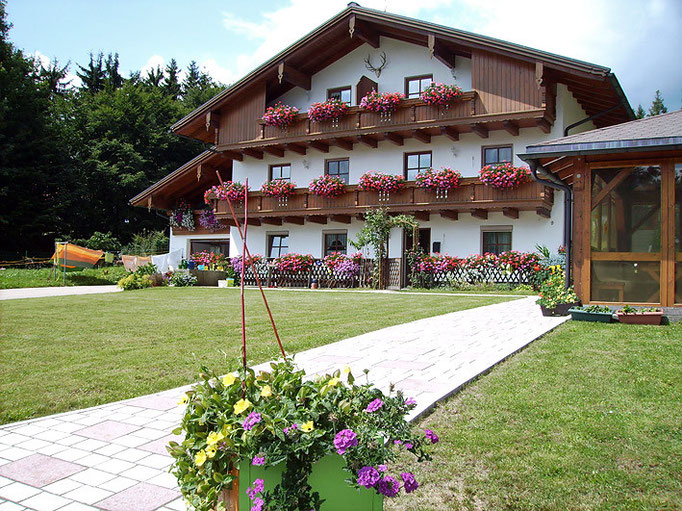 "Flats ""Haus Spannbauer"": Relaxing farm holidays in the Bavarian Forest"