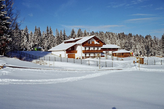 Flats Haus Spannbauer in winter