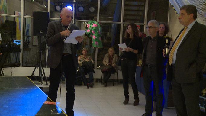 Kurator Kurt Grunow - Eröffnungsrede, Still: Jonnie Döbele